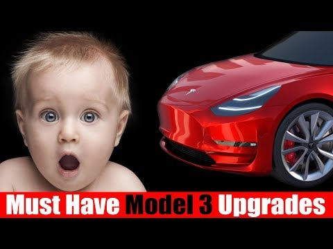 Must Have Upgrades For Your Tesla Model 3