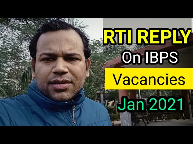 RTI Reply Reported  #Nill Vacancies in union Bank Of India   my Take on this cocnern