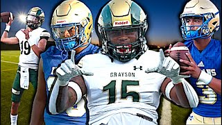 Georgia H.S Football !! #5 In the Nation Grayson vs McEachern High🔥🔥 Action Packed Highlight Mix