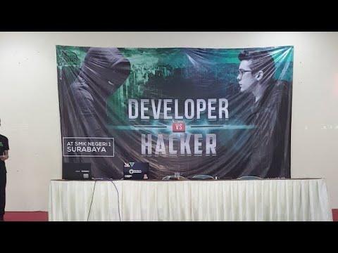 Developer Vs Hacker