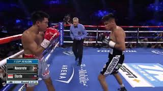 Emanuel Navarrete batters Juan Miguel Elorde | Fight Highlights