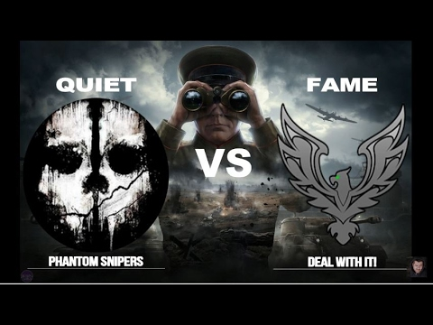 LIVE! World of Tanks - #147 - [QUIET] vs [FAME] - Stronghold EPIC battle
