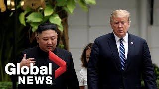 North Korea blames U.S. after Trump-Kim summit ends abruptly