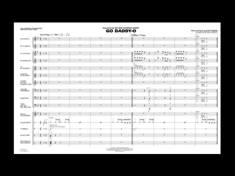 Go Daddy-o by Scotty Morris/arr. Michael Sweeney