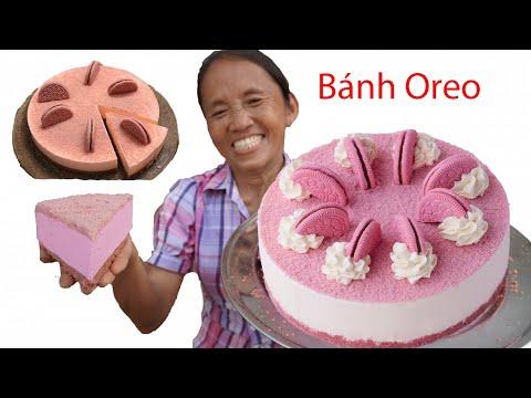 Bà Tân Vlog - Làm Cái Bánh Oreo Hoa Anh Đào Siêu Đẹp Siêu Sang Chảnh