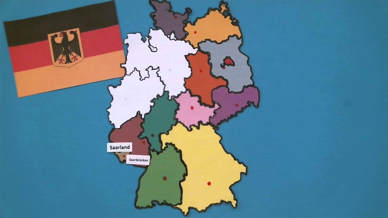 Bundesländer Karte Ohne Namen.Bundesländer Die 16 Bundesländer Daten Fakten Und Hauptstädte