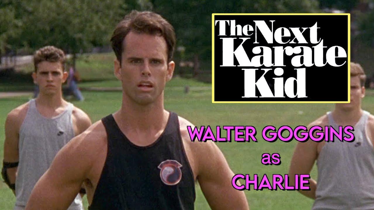 "Download The NEXT KARATE KID (1994): Walton Goggins as Charlie -- ALL the Scenes! ""Cobra Kai"""