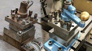 Satisfying Lathe Restoration Part 1 - Toolpost on the Jones and Lamson Lathe