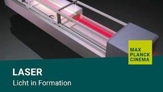 Laser - Licht in Formation