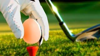 САНЯ ЭПИЧНО ПРОИГРАЛ И РАЗБИЛ ЯЙЦО СЕБЕ ОБ ЛИЦО! (Golf It)