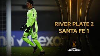 River Plate vs. Santa Fe [2-1]   RESUMEN   Fecha 5   CONMEBOL Libertadores 2021