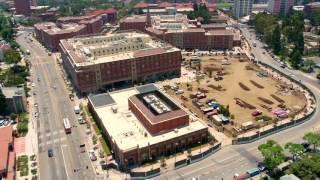 USC Village Aerial July 2017