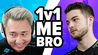 10,000 V-Bucks on the Line - 1v1 Me Bro - CLG Fortnite