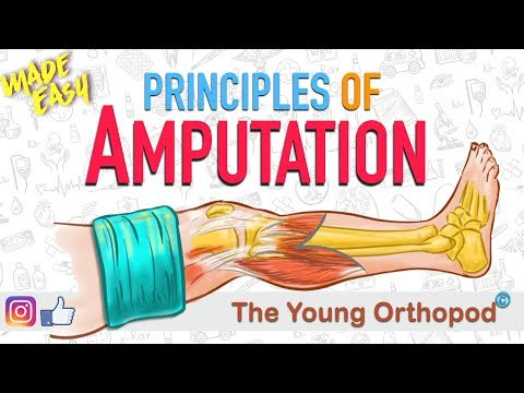 Amputation Principles | ANIMATION | BASICS | NEET PG | Amputee - The Young Orthopod
