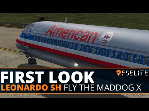 Leonardo SH Fly The Maddog X: The FSElite First Look [Start Up]
