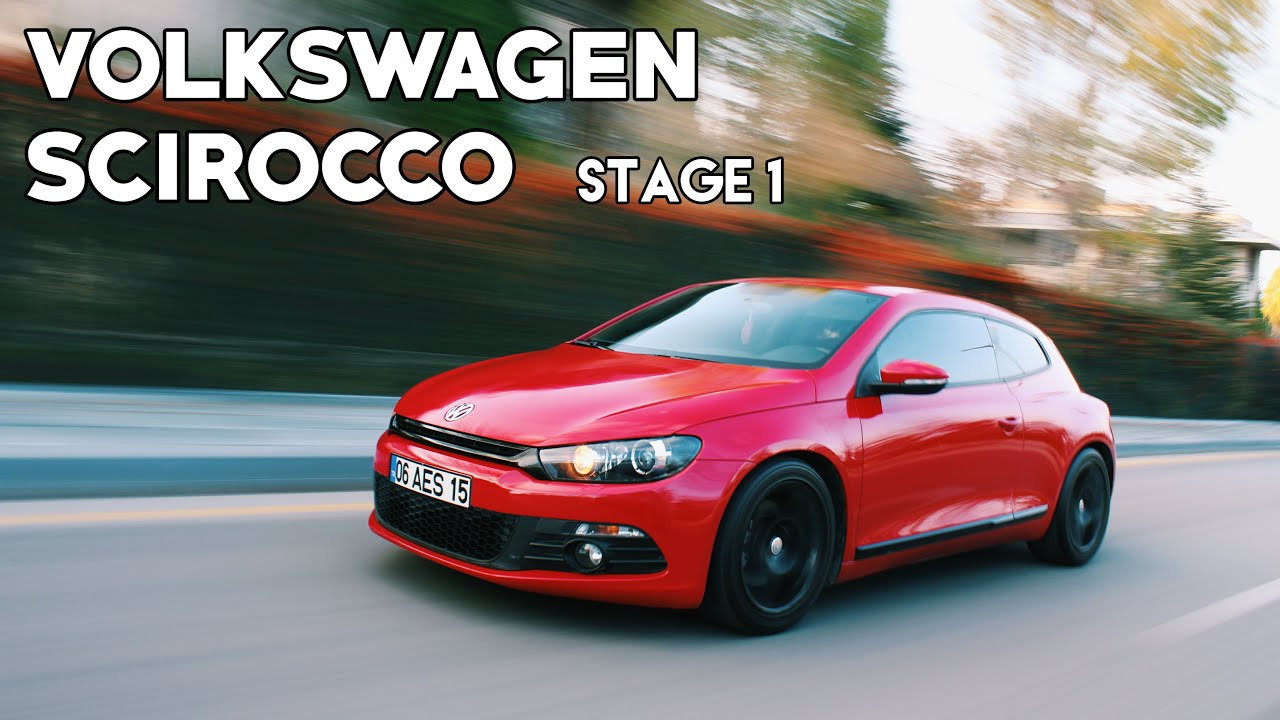 vw scirocco 1 4tsi stage1 2011 pov 0 100km h test youtube. Black Bedroom Furniture Sets. Home Design Ideas