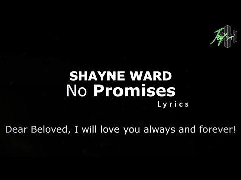 Shayne Ward - No Promises | Lyrics