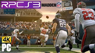 PS3 Madden NFL 10 in 4k (4480x2520) on PC RPCS3 emulator