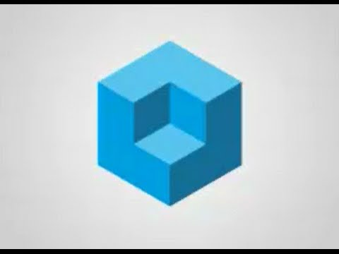 adobe illustrator Creation 3D Cube - YouTube