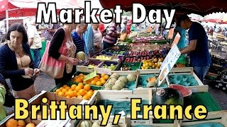 Brittany RV Tour : Market day in St Cast Le Guildo and Going to Binic