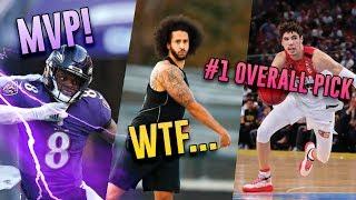 Deshaun Watson Calls Lamar Jackson MVP, Kaepernick's CRAZY NFL CRISIS & LaMelo Ball GOES OFF!