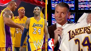 Looking at the wwe vs. nba's denver nuggets conflict in 2009. vince mcmahon buries owner stan kroenke a week of mainstream media interviews after w...