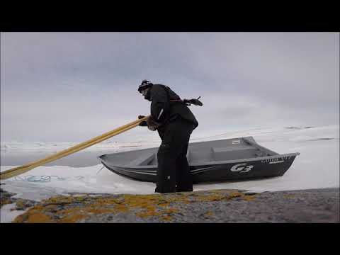 Seal Hunting During Ice Breakup..