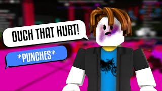 FIGHT AT CLUB INSANITY! | ROBLOX