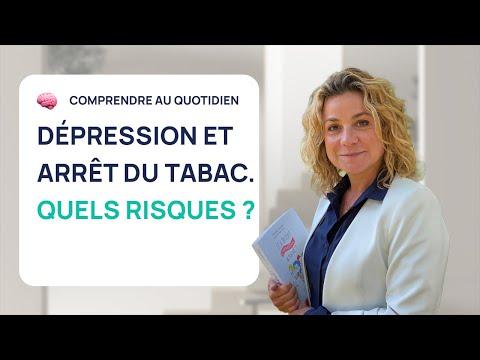 DÉPRESSION ET ARRÊT DU TABAC : QUELS RISQUES ?