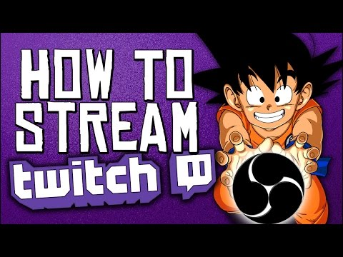 FAST AND EASY ! Stream with OBS STUDIO and Twitch.tv - 2017 Tutorial