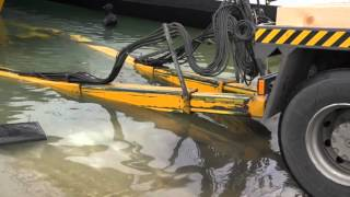 Ανέλκυση Catamaran Taiti 80 Feet σε Μαρίνα Αγ.Κοσμά