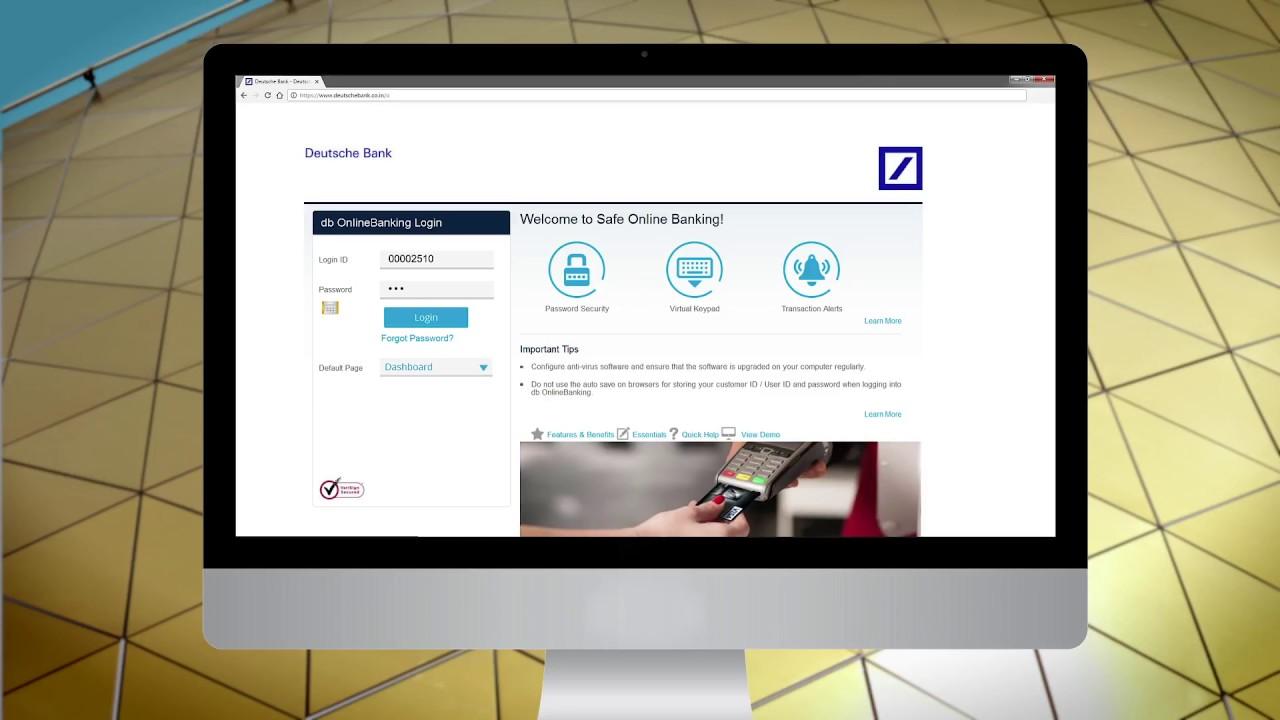 Deutsche Bank Db Online Banking