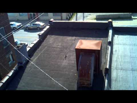 2010.10.10 - Roof top video of 706 before painting