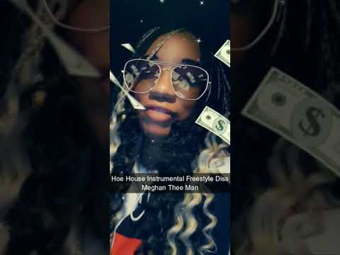 Hoe House Instrumental Beat from Moneybaggyo Freestyle Diss Meghan Thee Man