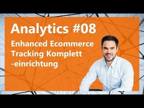 Enhanced Ecommerce Tracking Kompletteinrichtung / Analytics #08 - 동영상