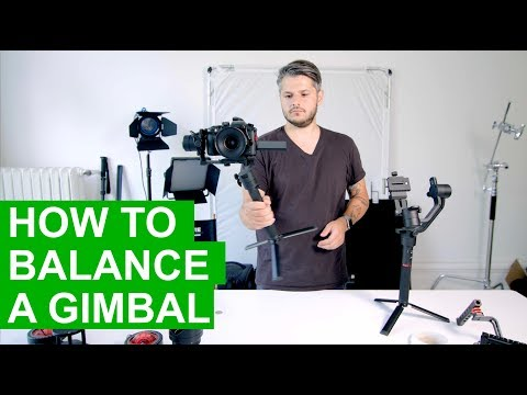 How to balance a gimbal - Moza AirCross