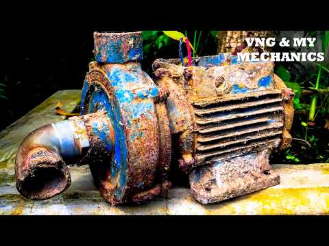 Tool Restoration - Electric Water Pump Restoration - Restoration Perfectly