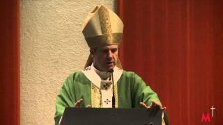 Résumé de la célébration pour les Philippines et homélie de Mgr Lépine