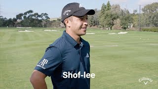 Callaway's most recent signing, young pga tour superstar xander schauffele, has a difficult name to pronounce (to say the least). we asked him share with ...