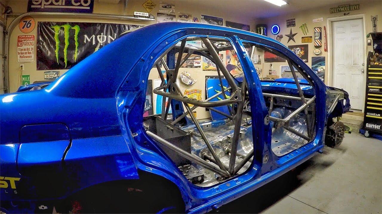 Download WRC Roll Cage Tig Welding/Roof Removal- Subaru Impreza STi WRC / Gymkhana Build Series - SE 1 / EP 8