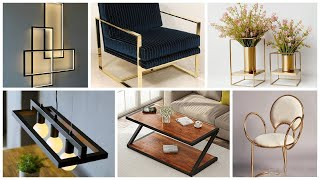 100+ Metal Furniture Ideas for Your modern Home Decoration PART 2