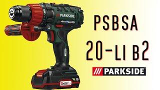 Taladro atornillador percutor parkside psbsa 20-li b2 - UNBOXING Y PRUEBA