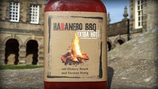 Habanero BBQ EXTRA HOT by Suicide Sauces Review