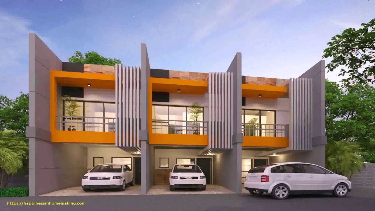 Modern Townhouse Design In The Philippines