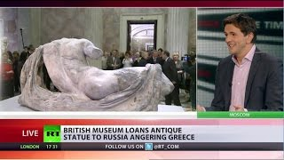 British Museum loans antique statue to Russia, angering Greece