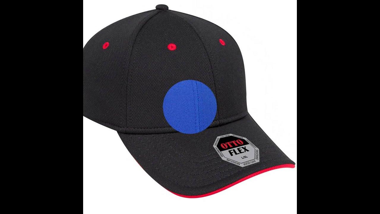 Wholesale blank 6 panel hats - OTTOcap.com - YouTube e435435cc97