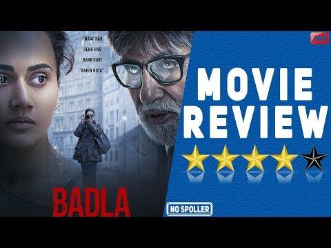 Badla Movie Review | Amitabh Bachchan | Taapsee Pannu | Sujoy Ghosh