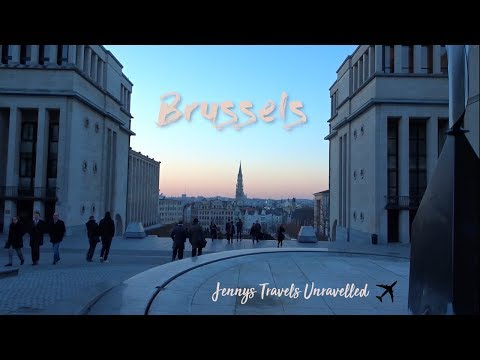 Brussels, Belgium Travel Vlog | Things to do in Brussels