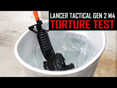 Lancer Tactical Gen 2 M4 TORTURE TEST - Airsoft GI