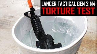 Lancer Tactical Gen 2 M4 TORTURE TEST - Airsoft GI